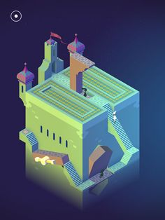 monument valley cube - Google Search