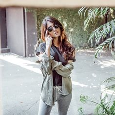 LA WEEKEND STYLE ❤️ casual cool @racquel_natasha in @ragdoll_la Tee n Skinny Long Johns #imaragdoll