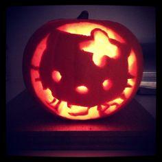 'Hello Kitty' #Pumpkin