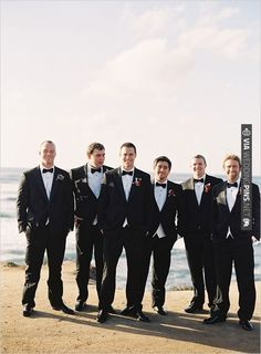 Groomsman in tuxedos | CHECK OUT MORE IDEAS AT WEDDINGPINS.NET | #bridesmaids