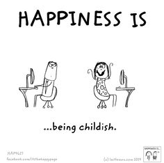 They say many autistics are childish. I say being childish is awesome!