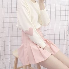 Korean Fashion – How to Dress up Korean Style – Designer Fashion Tips Pastel Fashion, Kawaii Fashion, Cute Fashion, Girl Fashion, Fashion Outfits, Fashion Styles, Pastel Outfit, Pink Outfits, Ropa Color Pastel