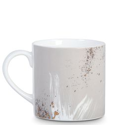 Spatter ceramic mug. LOVE.