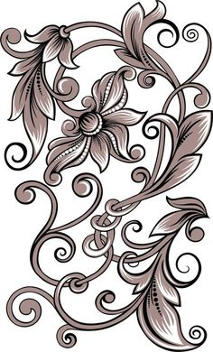 Irresistible Embroidery Patterns, Designs and Ideas. Awe Inspiring Irresistible Embroidery Patterns, Designs and Ideas. Pyrography Designs, Pyrography Patterns, Carving Designs, Stencil Patterns, Stencil Designs, Embroidery Patterns, Grafic Design, Motif Arabesque, Pewter Art