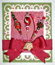 faith's Gallery with Layouts, Projects and Photos. Craft Stick Crafts, Diy Crafts, Bead Crafts, Craft Ideas, Pink Apple, 1st Christmas, Christmas Crafts, Mini Bottles, Stick Pins
