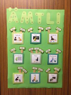 Unsere Aufgaben Ich behaupte, in den meisten Grundschule-Klassenzimmern sind Klassendienste zu finden. Irgendwo hängen sie doch immer ;)....