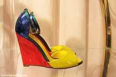 COLOR POPPING: Sergio Rossi SS13 Collection At Level Shoe District, The Dubai Mall http://www.shoera.com/2013/05/02/color-popping-sergio-rossi-ss13-collection-at-level-shoe-district-the-dubai-mall/