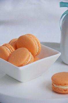 Sweet Boake | Baking Blog : Creamsicle Macarons