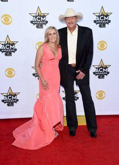 Pin for Later: Seht Taylor Swift, Nick Jonas und alle anderen Stars bei den ACM Awards Alan und Denise Jackson