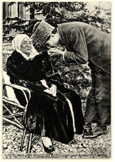 ATATÜRK'ÜN ANNESİ ZÜBEYDE HANIM ABDURAHİM TUNCAK İLE. 1922