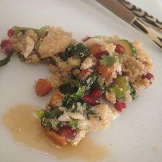 Mine matskriblerier: Quinoasalat med klippfisk og sesam