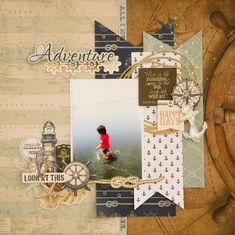 『Adventure』by Miyuki Kawakami - Scrapbook.com
