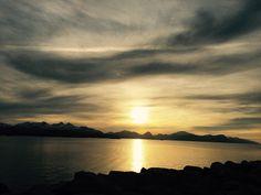 Закат в Норвегии 🌅