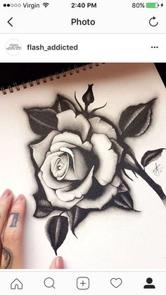 19 Gorgeous Flower Tattoos For Women Great Tattoos, Body Art Tattoos, Girl Tattoos, Sleeve Tattoos, Tattoos For Women, Rose Drawing Tattoo, Tattoo Sketches, Tattoo Drawings, Sketch Drawing