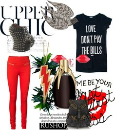 """""""Red Envy"""" by beautydesk on Polyvore"""