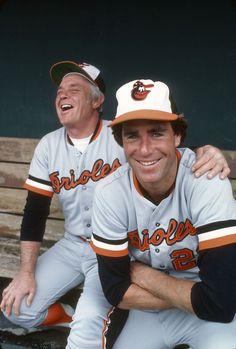 Earl Weaver and Jim Palmer-Baltimore Orioles...................
