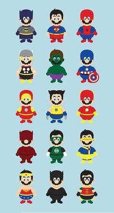 Super Mario Superheroes