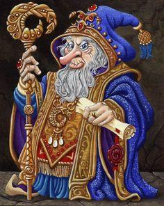 Blue Wizard by ravenscar45 on DeviantArt