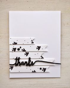 Thanks card by Maile Belles