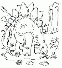 Dinosaur Color Pages Pinterest Kids Colouring Kid Coloring Page Dinosaur