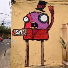 Street art   Mural (Brazil) by Rafo Castro