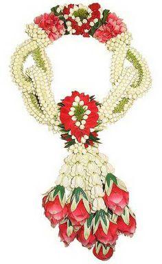 Thai style flower garland