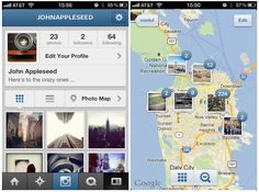 Instagram 3.0 Launches With New Profiles and Cool New Photo Maps