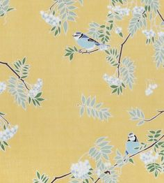 Rowan - Antique Gold fabric, from the Emily Burningham Fabrics collection by Emily Burningham