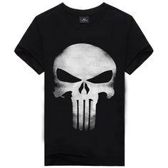 3D T Shirt Men Plus Size Cotton Tops Tee Skull Printed Short Sleeve fitness Cotton T-shirt Men Hip Hop Camisetas Brand Clothing