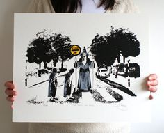 Lord Of The Rings 'Thou Shall Not Pass' Hand by BarryDBulsara, $32.00