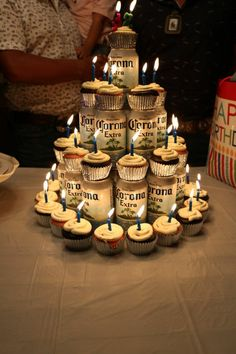 Tinker cake from tins: unusual ideas for gifts for men! Beer Birthday Party, 30th Birthday Themes, Birthday Cake For Him, Birthday Gifts For Boyfriend Diy, Picnic Birthday, Birthday Decorations, Boyfriend Gifts, Birthdays, Men Cake