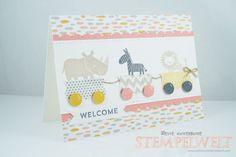 Stampin 'Up! _Baby_Karte To Geburt_Zoo Babies_Süße Träume_Altrosé_Lagunenblau_2