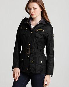 Barbour International Waxed Cotton Jacket   Bloomingdale's - $449