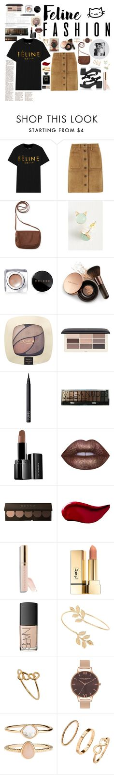 """""""Feline_Cat_Fashion"""" by tonilovesfashion ❤ liked on Polyvore featuring Brian Lichtenberg, rag & bone, Aéropostale, Bobbi Brown Cosmetics, Nude by Nature, L'Oréal Paris, H&M, NARS Cosmetics, Boohoo and Illamasqua"""