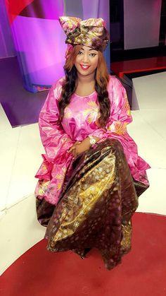 Aïcha Diouf au summum de l'élégance en Grand Boubou Thioup