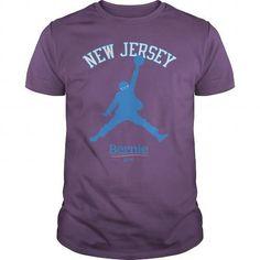 Awesome Tee BERNIE SANDERS - NEW JERSEY Shirts & Tees