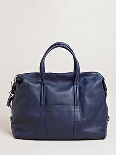 2013.04.14. The SS/13 Travelling Bag from Margiela. Navy leather.