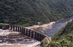 railway | Railway bridge over Kaaimans River - between George and Knysna