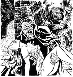 Classics of Horror (Bruce Timm - sketch) | Flickr - Photo Sharing!