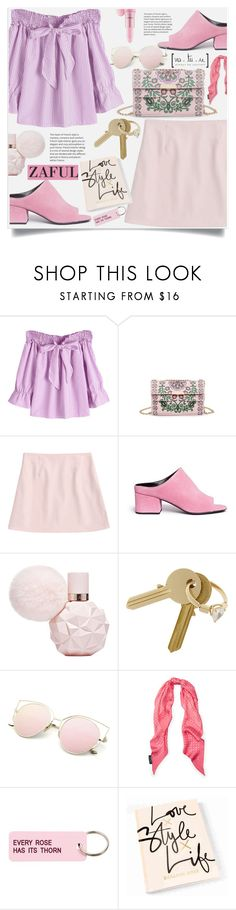 """Zaful II/50"" by lillili25 ❤ liked on Polyvore featuring 3.1 Phillip Lim, Maison Margiela and Various Projects"
