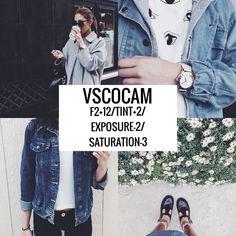 Vscocam Filter- F2+12/Tint+2/Exposure-2/Saturation-3 #vsco#vscocam#vscofilter