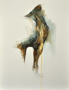 """Benedicte Gele, """"Equine Nude 6"""", oil  New favorite equine artist...."""