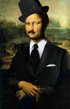 Klimt, Monet, La Madone, Mona Lisa Parody, Mona Lisa Smile, Hokusai, Famous Artwork, Italian Artist, Op Art