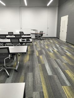 Interface Silver linings collection at the University of Toledo, Interior Design by Amanda Costell and Furniture by American Interiors