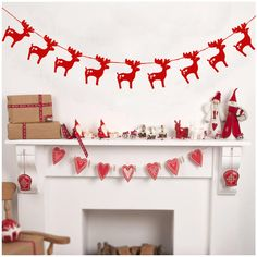 Red Gold Silver Christmas Elk Banners Paper Deer Flag Garlands for Christmas Party Supplies Home Wall Decor New Year Decoration Diy Christmas Garland, Christmas Party Decorations, Christmas Paper, Christmas Crafts, Christmas 2017, Merry Christmas, Reindeer Christmas, Silver Christmas, Christmas Wedding