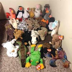 d34c42691a5 LOT 25 Retired NWT Ty Beanie Babies