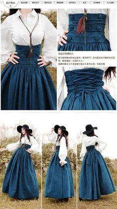 New style outfits boho chic maxi dresses ideas Pretty Outfits, Pretty Dresses, Beautiful Dresses, Boho Beautiful, Mode Outfits, Hipster Outfits, Street Style Looks, Lolita Fashion, Gothic Fashion