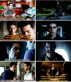 #TeenWolf5x02 that's why we should ALWAYS trust Stiles' instincts! Always! ( I think that his supernatural power: predictions) < No, he's as human as human can be, but his instincts are on point. I trust Stiles more than anything! I always believe him. :)