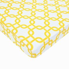 American Baby Company 100% Cotton Percale Fitted Portable/Mini Crib Sheet, Golden Yellow Twill Gotcha:Amazon:Baby