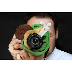 Lens bling  SNAIL / opaska na obiektyw ŚLIMAK